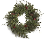 "20"" Mixed Pine Wreath"