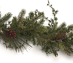 6' Mixed Pine Garland