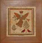 Angel Fraktur by Susan Daul