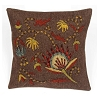 Flower Garden Pillow 14 In x 14 In