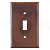 Single Switchplate Rustic Tin