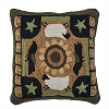 Favorite Things Hooked Pillow Cover