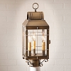 Martha's Post Lantern Weathered Brass