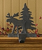 Moose & Tree Stocking Hanger