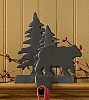 Bear & Tree Stocking Hanger