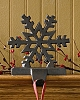 Snowflake Stocking Hanger - Iron