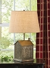 Gatehouse Punched Lamp with Shade
