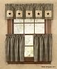 Star Patch Lined Valance