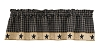Sturbridge Star Lined Valance