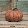 MEDIUM ORANGE SHORT MACHE PUMPKIN