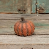 SMALL ORANGE SHORT MACHE PUMPKIN