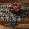 Campbell Coverlet Table Square - Black