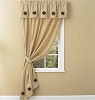 Carrington Lined Ticking Single Panel - 84