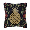 Pineapple Hooked Pillow Cover