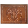 Horizontal Wheat Design Cabinet Panel 10