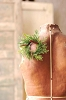 Prickly Pine Candle Ring | Green | 2