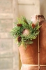Prickly Pine Candle Ring | Green | 9