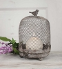 Cloche Birdcage Candle Holder