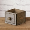Wooden Box W/Drawer Pull Handle