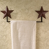 Burgundy Barn Star Towel Bar