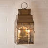 Washington Wall Lantern Weathered Brass