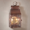 Washington Wall Lantern Antique Copper
