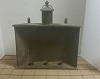 Parlor 3 Taper Candle Holder Tin Stand Cobblestone
