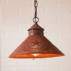 Stockbridge Shade Light Star Rustic Tin