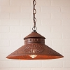 Shopkeeper Shade Light Rustic Tin