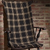Classic Black Throw (50x60