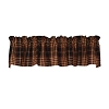 Village Plaid Valance (72x14