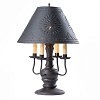 Cedar Creek Lamp Base in Americana Black