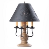 Cedar Creek Lamp Base in Americana Pearwood