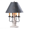 Cedar Creek Lamp Base in Americana White