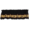 Black Barn Star Valance (72x14
