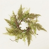 Candle Ring Ferns & Foliage