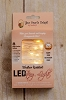 Led 30 String Lights Warm White Outdoor W/Timer