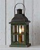 Electric Light - Wooden Lantern Table Lamp