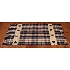 Black Farmhouse Star Rug 2 ft. x 3.5 ft.
