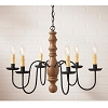 Manassas Chandelier in Sturbridge Mustard