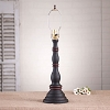 Davenport Lamp Base in Hartford Black w/Red Stripe