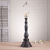 Davenport Lamp Base in Americana Black