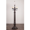 General James Floor Lamp Base Americana Espresso