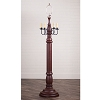 General James Floor Lamp Base in Americana Red