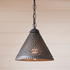 Wellington Shade Light in Kettle Black