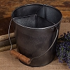 Small Divided Barn Bucket
