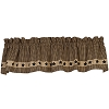 Colonial Black Star Valance