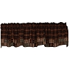 Village Patchwork Lined Valance