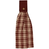 Barn Red Lexington Towel w/Tab