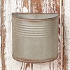 Ol' Tin Wall Bucket